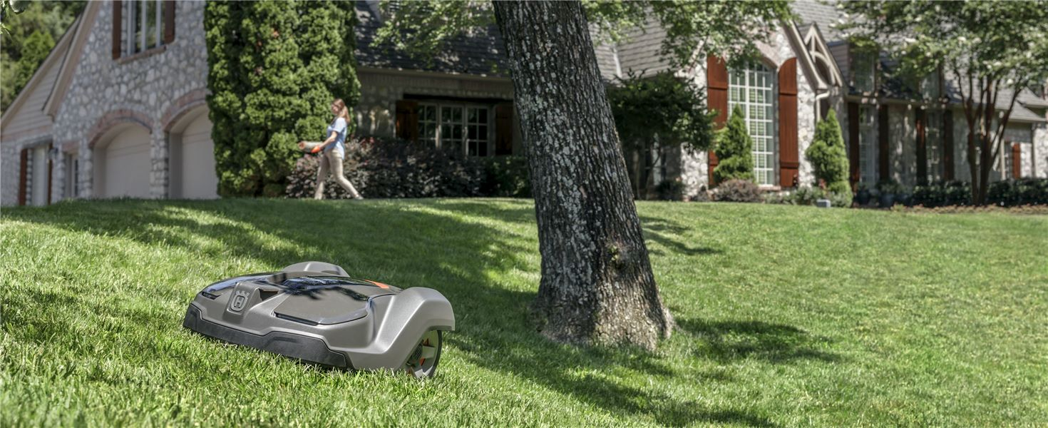 Robotic Mowers are Here!